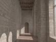 Óbudai vár folyosó